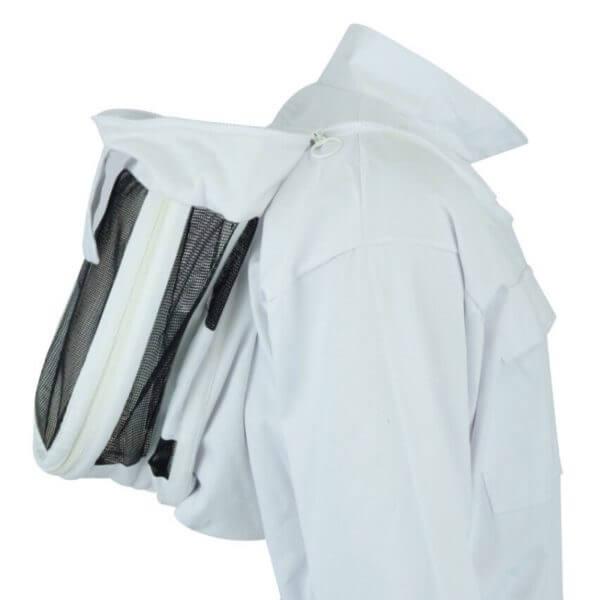 beekeeper jacket with fencing veil