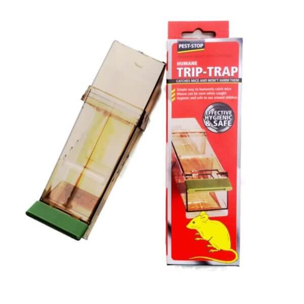 2 X Trip Trap Mouse Trap Humane Live Catch Mouse Mice Pest-Stop.
