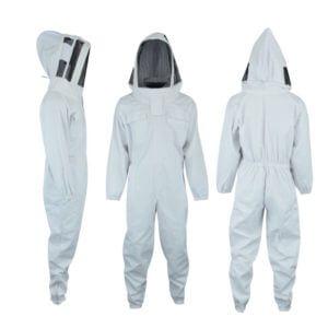 beekeeper suit with spaceman hood