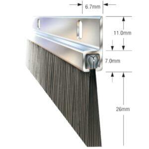 Bottom Door Seal Bristle Strip -0