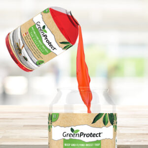 green protect wasp and fly bait